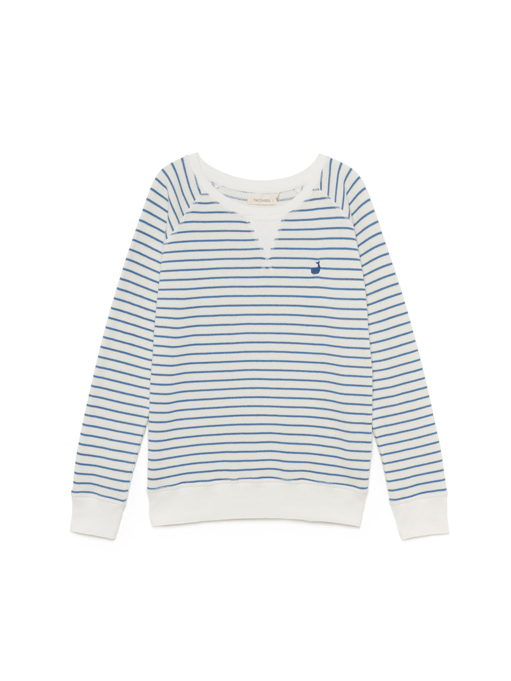 TWOTHIRDS Womens Sweat: Corfu - White front
