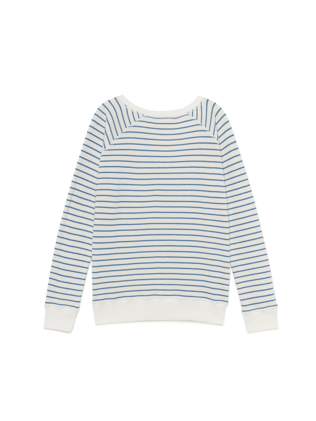 TWOTHIRDS Womens Sweat: Corfu - White back
