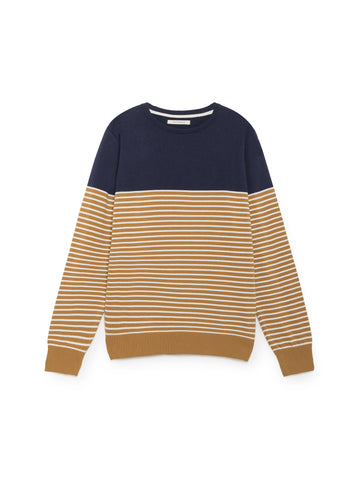 TWOTHIRDS Mens Knit: Delos - Navy front