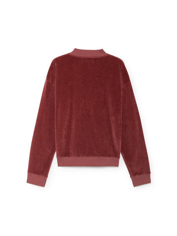 TWOTHIRDS Sweat: Kerguelen - Adobe Rose