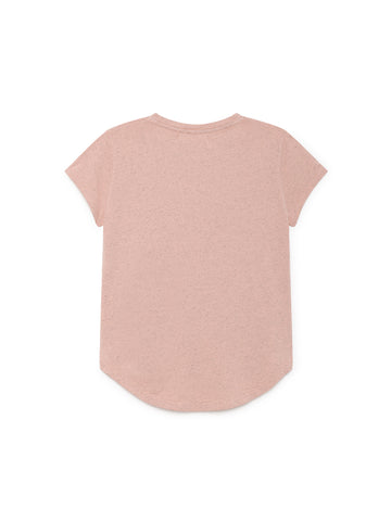 TWOTHIRDS Womens Tee: Pianosa - Pink back
