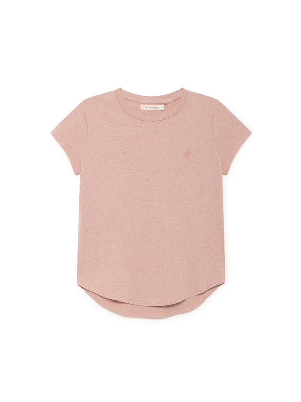 TWOTHIRDS Womens Tee: Pianosa - Pink front
