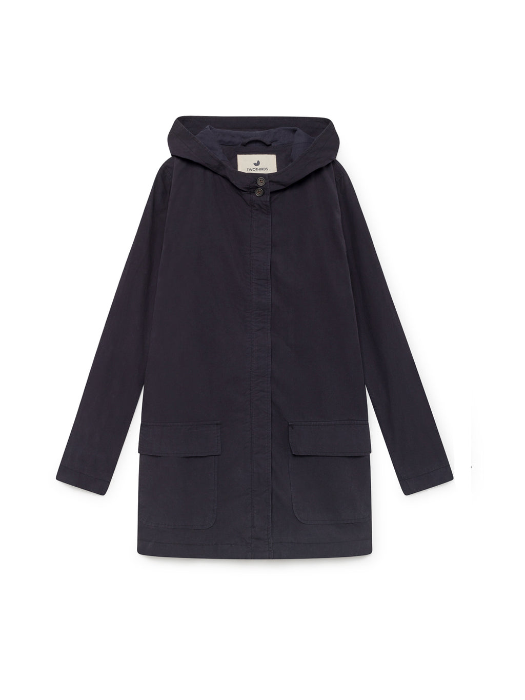 TWOTHIRDS Womens Jacket: Skorpio - Navy front