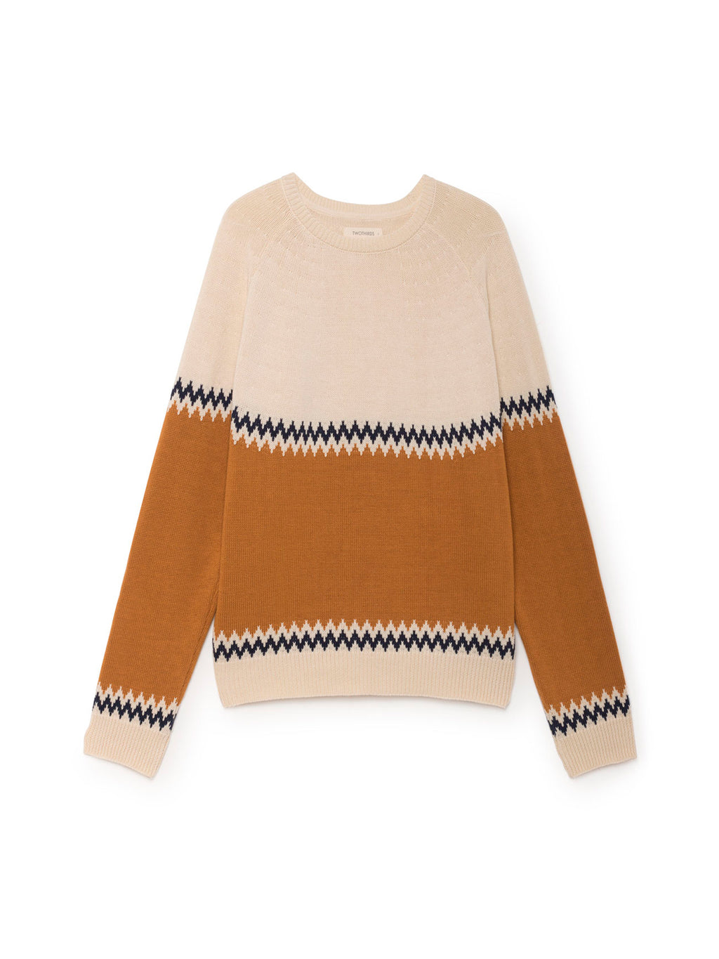 TWOTHIRDS Womens Knit: Sibu - Terracota front
