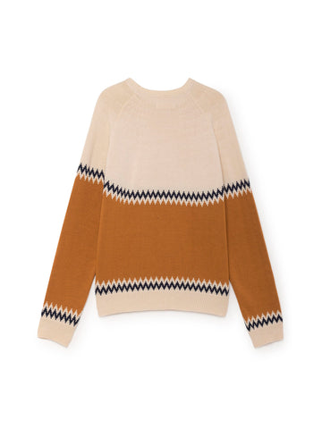 TWOTHIRDS Womens Knit: Sibu - Terracota back