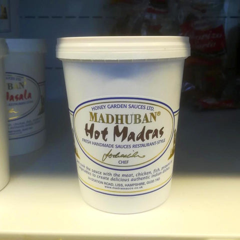 Madhuban Garden Sauces - Hot Madras