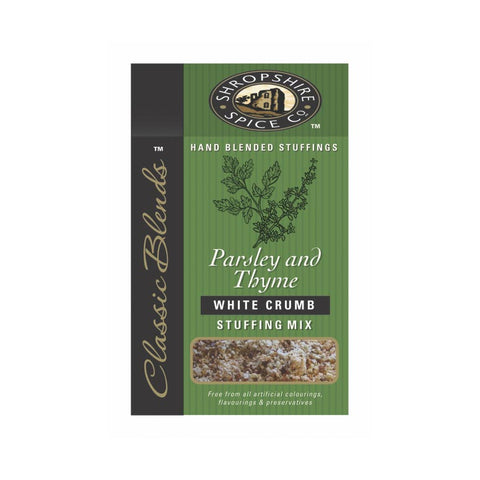 Stuffing Mix: Parsley & Thyme White Crumb Stuffing Mix: Shropshire Spice Co.