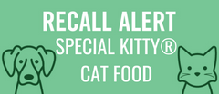 J. M. Smucker Company Announces Recall of Special Kitty® Canned Cat Food
