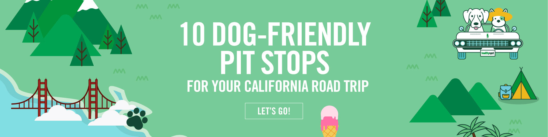 10 Dog-Friendly Pit Stops