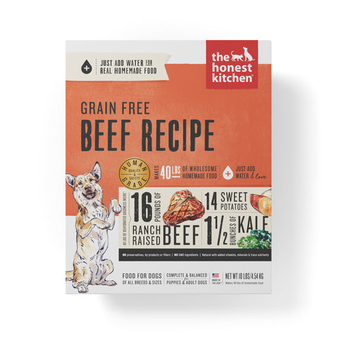 The Honest Kitchen Beef Recipe Dog Food