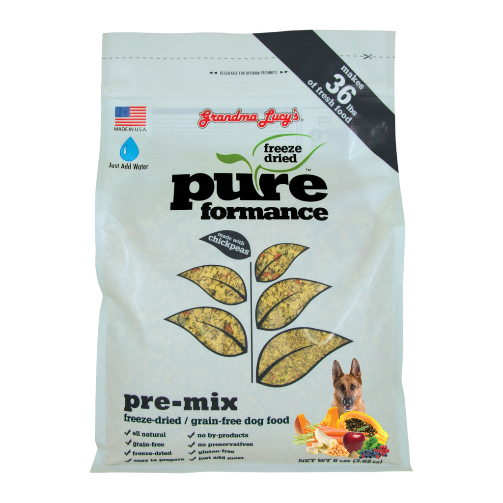 Grandma Lucy's Pureformance Pre-Mix Dog Food