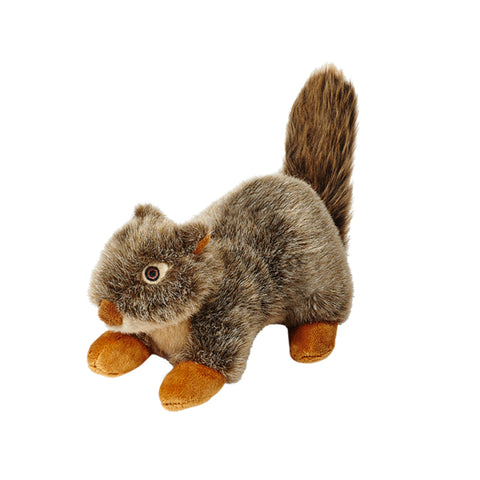 Fluff & Tuff Nuts Squirrel Plush Dog Toy
