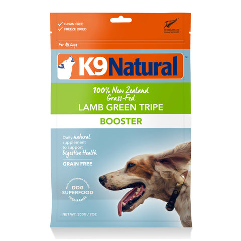 K9 Natural Lamb Green Tripe Freeze-Dried Booster