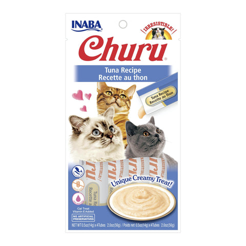 Inaba Churu Purees - Tuna Cat Treat