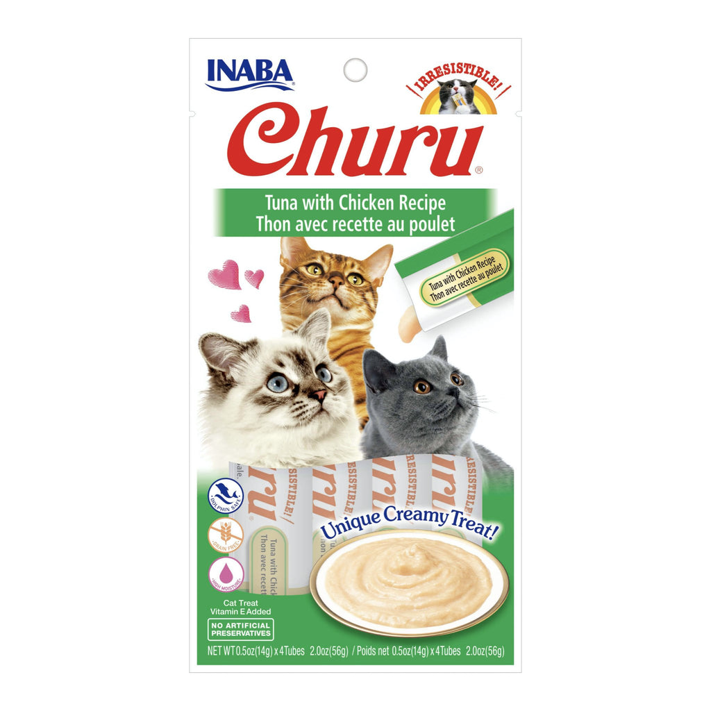 Inaba Churu Purees - Tuna & Chicken Cat Treat