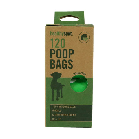 Healthy Spot Poop Bags - 8 Roll Scented