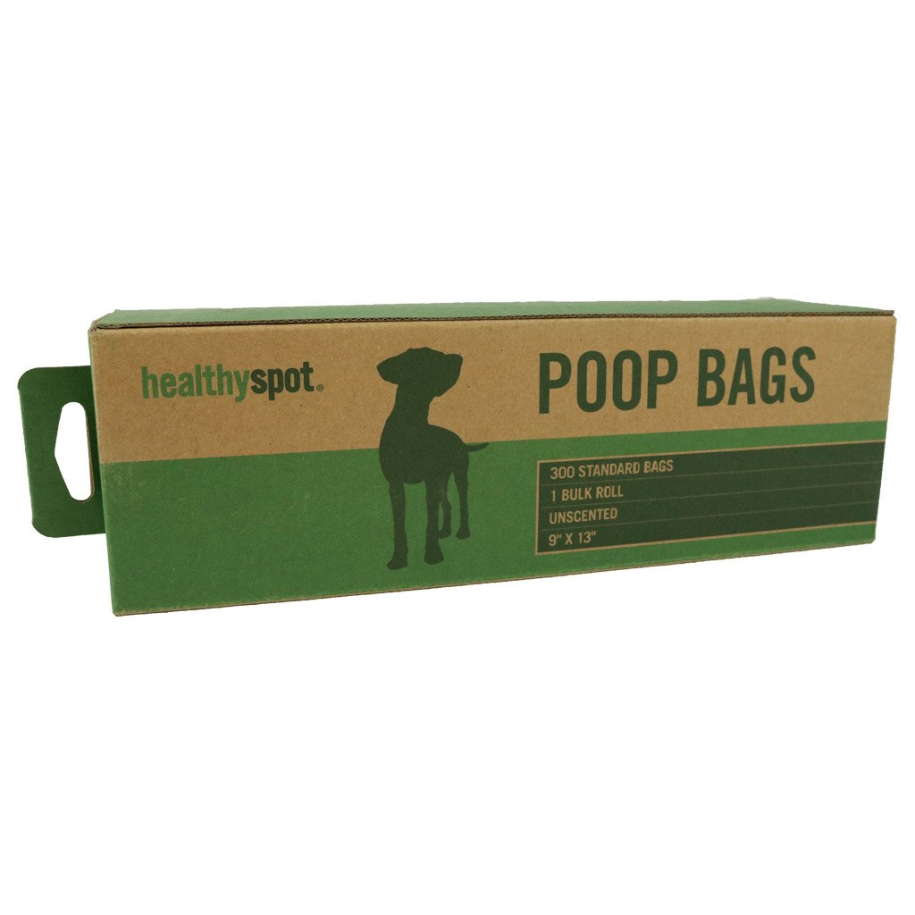 Healthy Spot Poop Bags - 300 Bag Roll Unscented