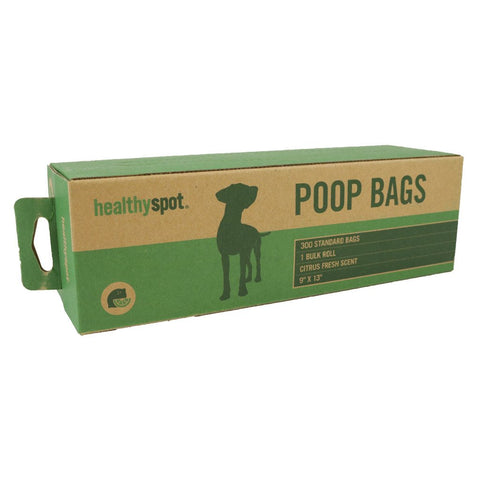 Healthy Spot Poop Bags - 300 Bag Roll Scented