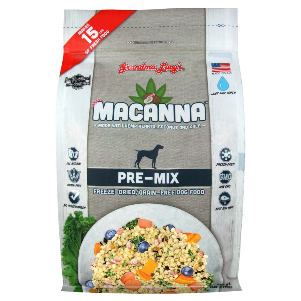 Grandma Lucy's Macanna Pre-Mix Freeze Dried Dog Food