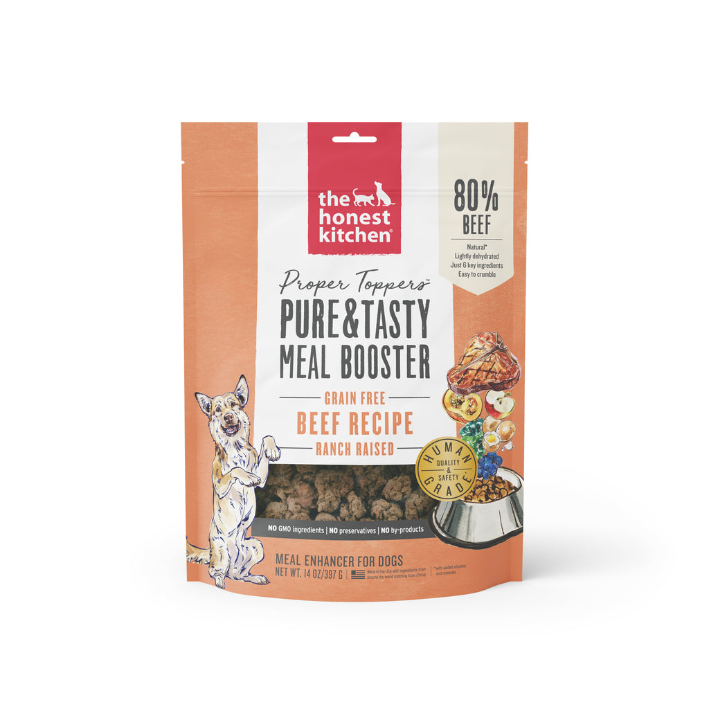 The Honest Kitchen Proper Toppers Grain-Free Beef Dog Food