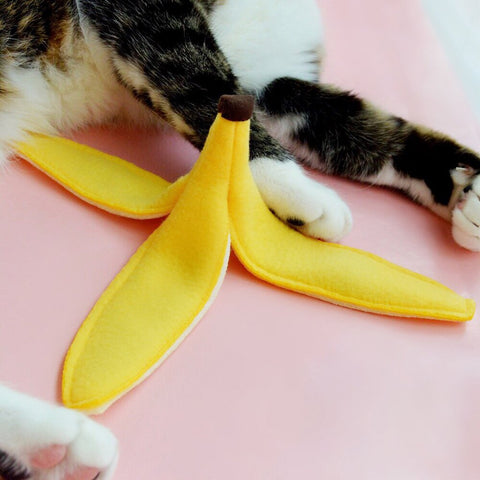 Housecat Club Banana Peel Catnip Toy