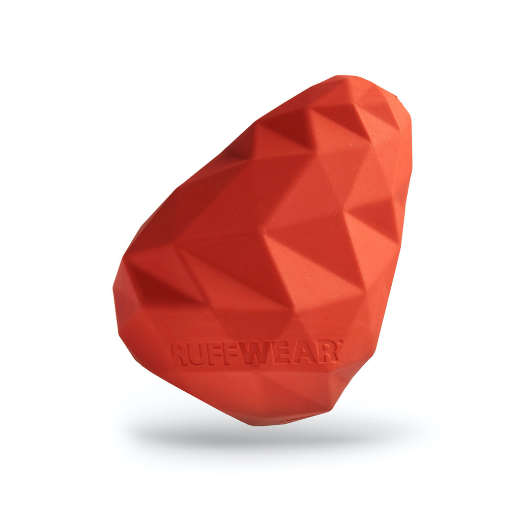 Ruffwear Gnawt-A-Cone Sockeye Red Rubber Dog Toy