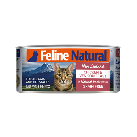 Feline Natural Canned Chicken & Venison Feast Cat Food