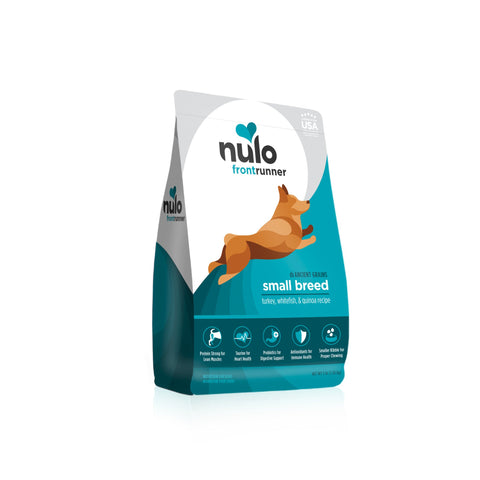 Nulo FrontRunner Small Breed Turkey & Whitefish Dog Food