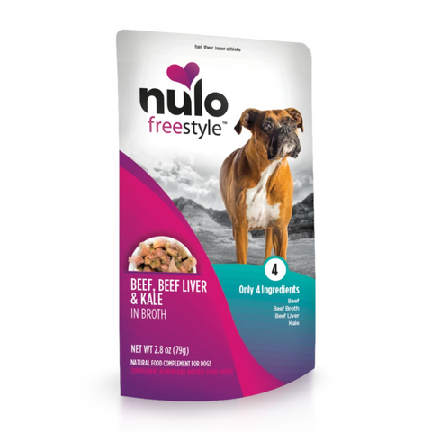 Nulo FreeStyle Dog Pouch Beef Dog Food
