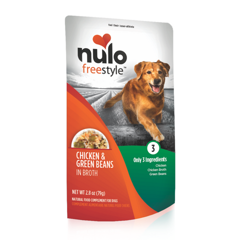 Nulo FreeStyle Dog Pouch Chicken & Green Beans Dog Food