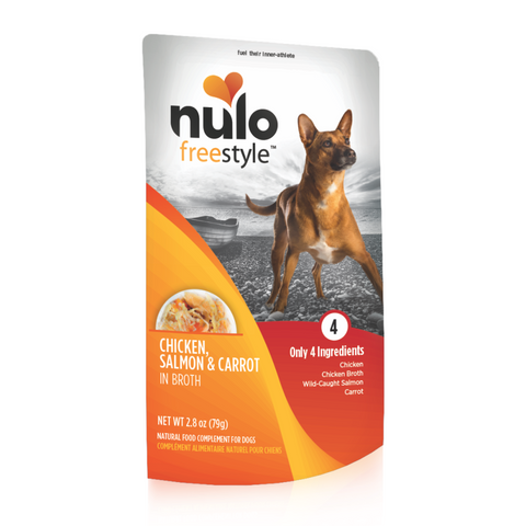 Nulo FreeStyle Dog Pouch Chicken, Salmon, & Carrot Dog Food