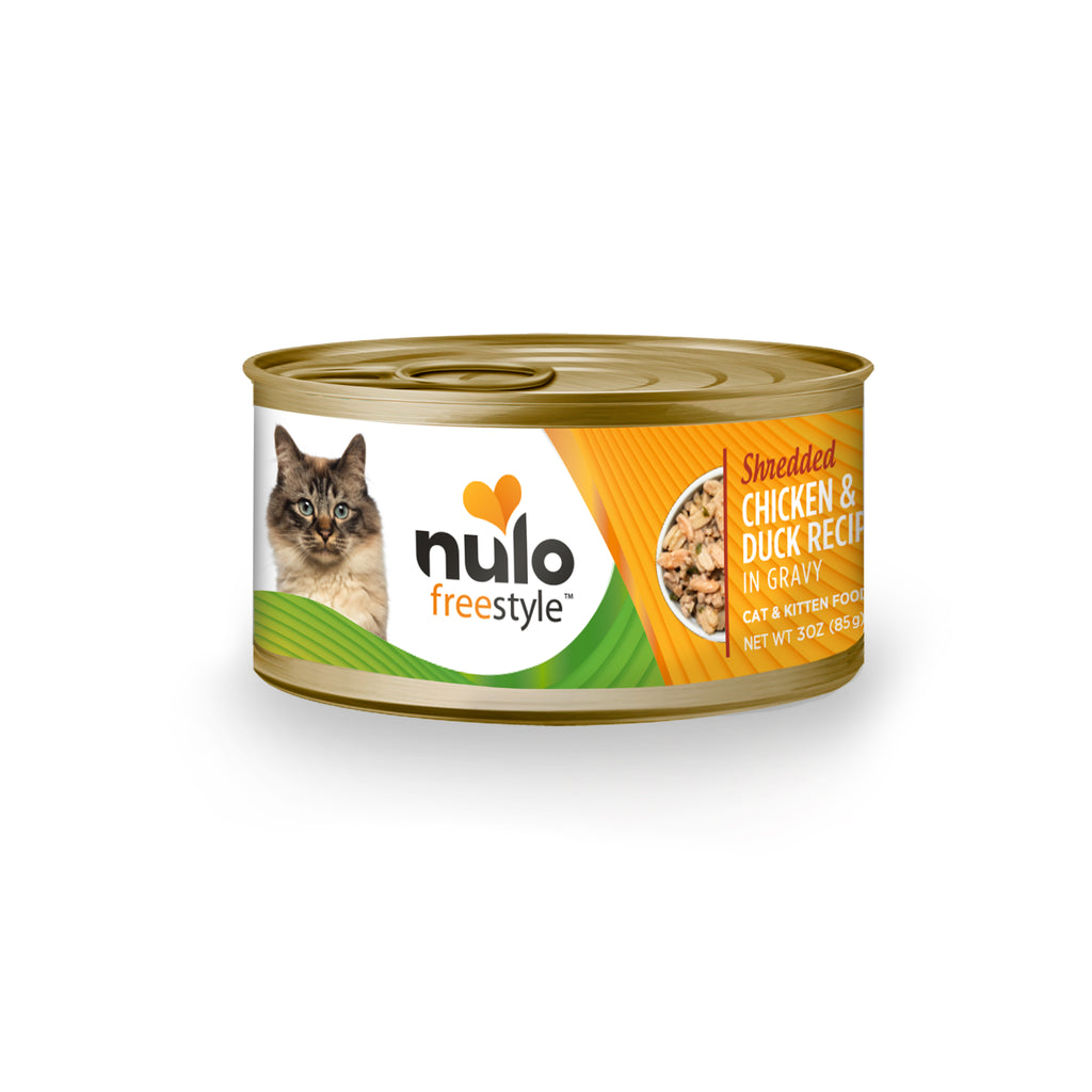 Nulo FreeStyle Shredded Chicken & Duck Wet Canned Cat Food