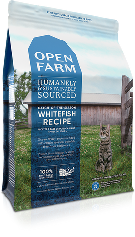Open Farm Catch of the Season Whitefish Dry Cat Food