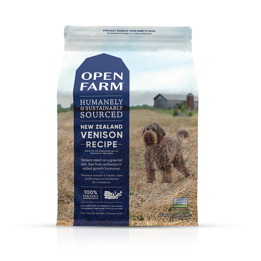 Open Farm New Zealand New Zealand Venison Dry Dog Food