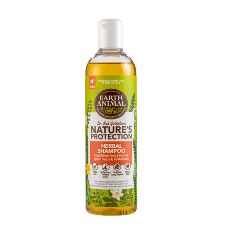 Earth Animal Nature's Protection Herbal Flea & Tick Dog Shampoo