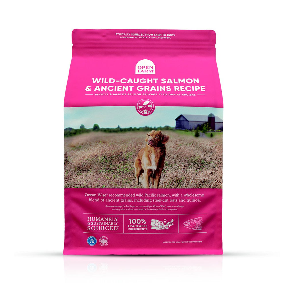Open Farm Salmon & Ancient Grains Dry Dog Food