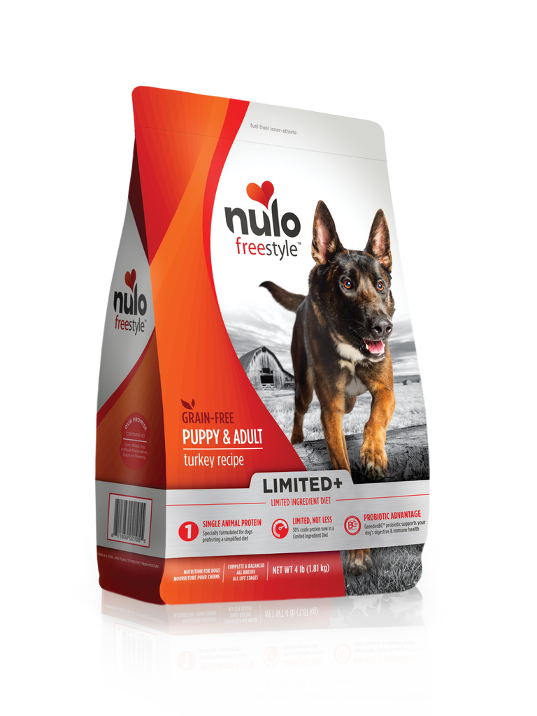 Nulo FreeStyle Limited+ Turkey Puppy & Adult Dog Food