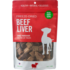 Healthy Spot Beef Liver Freeze-Dried Treats