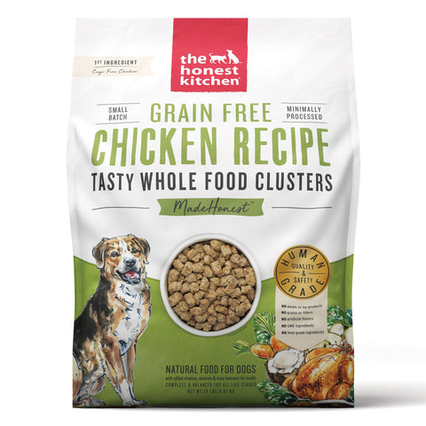 The Honest Kitchen Grain-Free Chicken Whole Food Clusters Dog Food