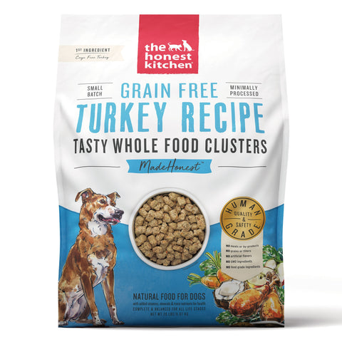 The Honest Kitchen Grain-Free Turkey Whole Food Clusters Dog Food