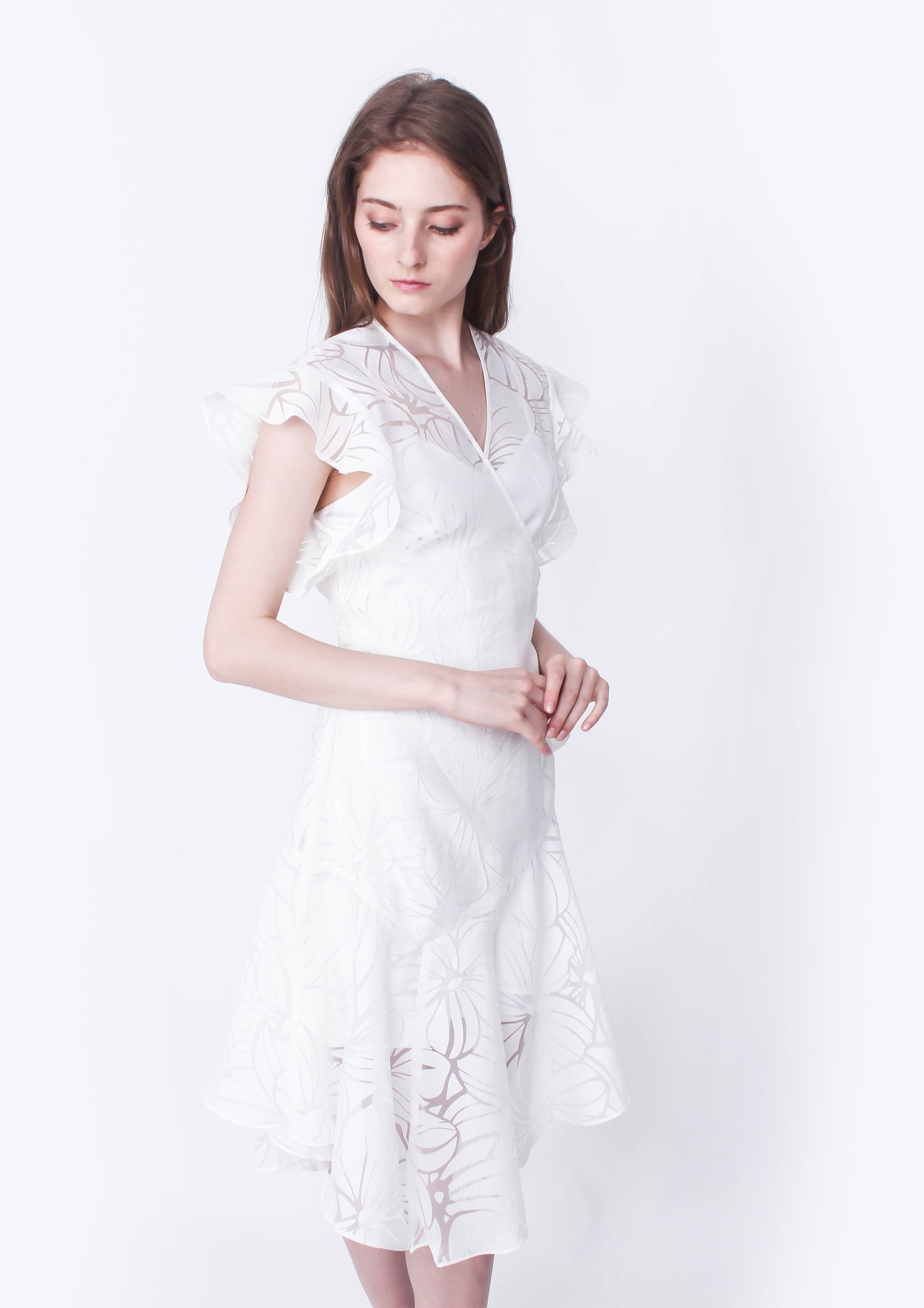 Million Reasons Dress (White)