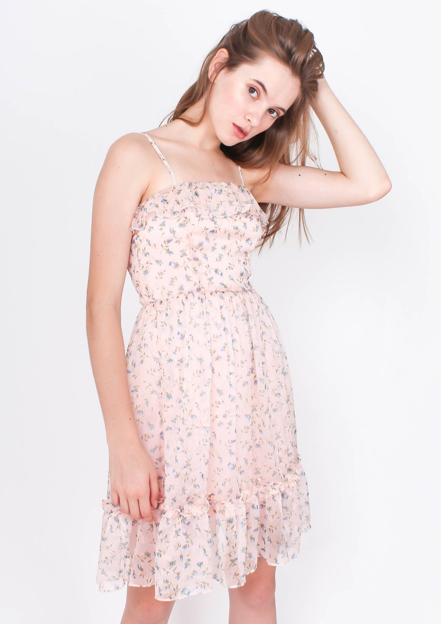 Transcend Mini Dress (Daisy Pink) - Moxie