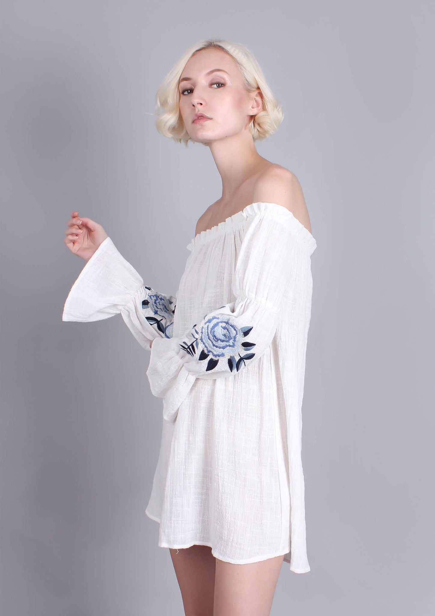 Summer Song Dress (White)