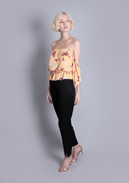 Saffron Off Shoulder Top - Moxie