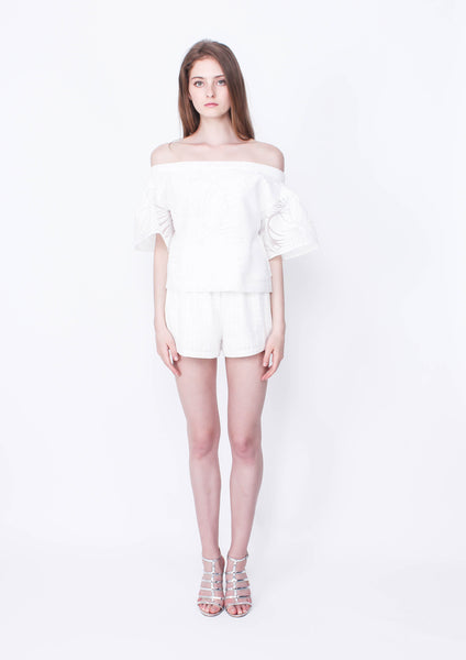 Million Reasons Top (White) - Moxie