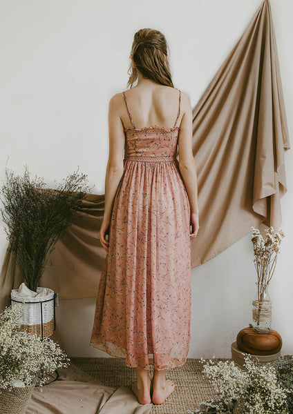 Seraphina Cami Maxi Dress (Canyon Rose) - Moxie