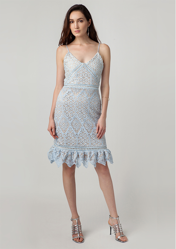 Beryl Crochet Cami Dress