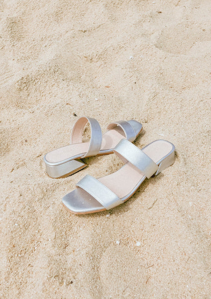 Double Band Sandal (Gin) - Moxie
