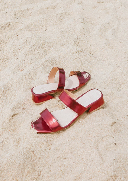 Double Band Sandal (Holly) - Moxie