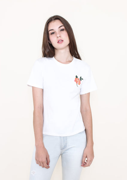 Rosie Embroidery Tee Shirt